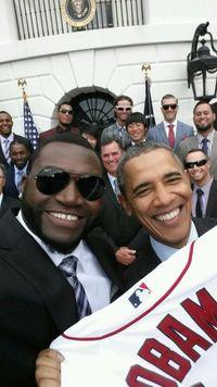 David Ortiz selfie